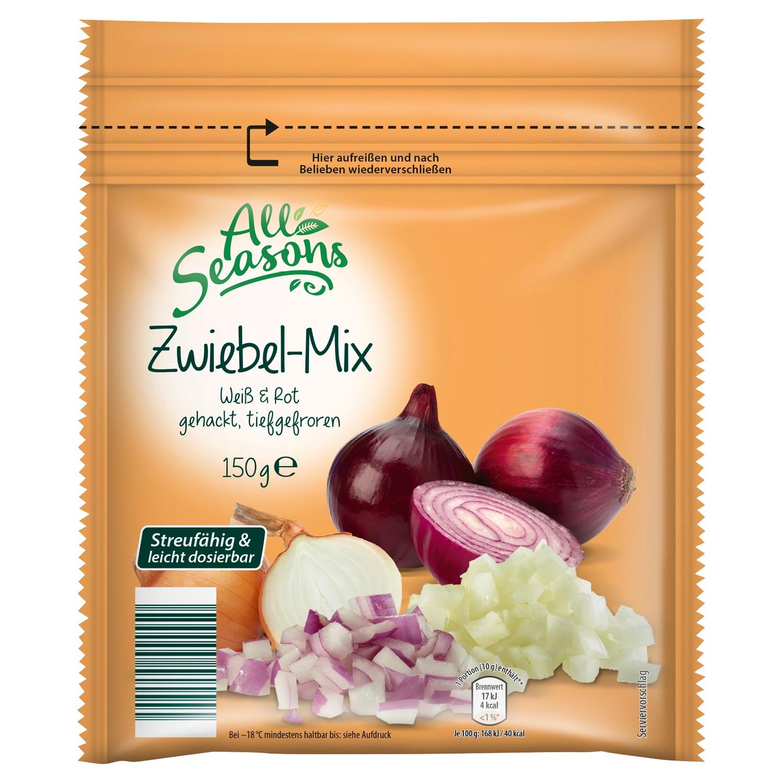 All Seasons Zwiebel-Mix, tiefgefroren 150g