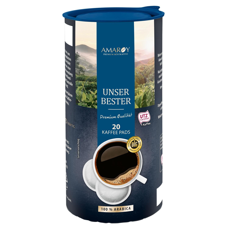 AMAROY Unser Bester 20 Kaffee Pads