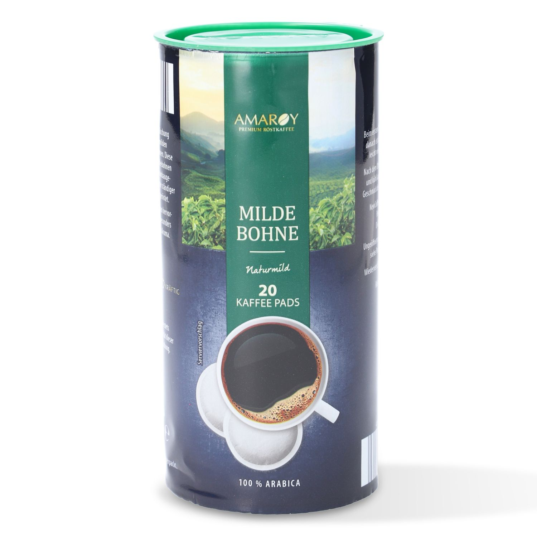 AMAROY Premium Röstkaffee Milde Bohne Naturmild 144g