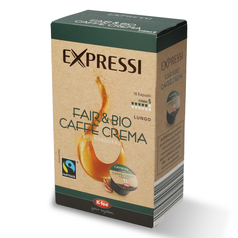 EXPRESSI Fair & Bio Caffè 124,8 g
