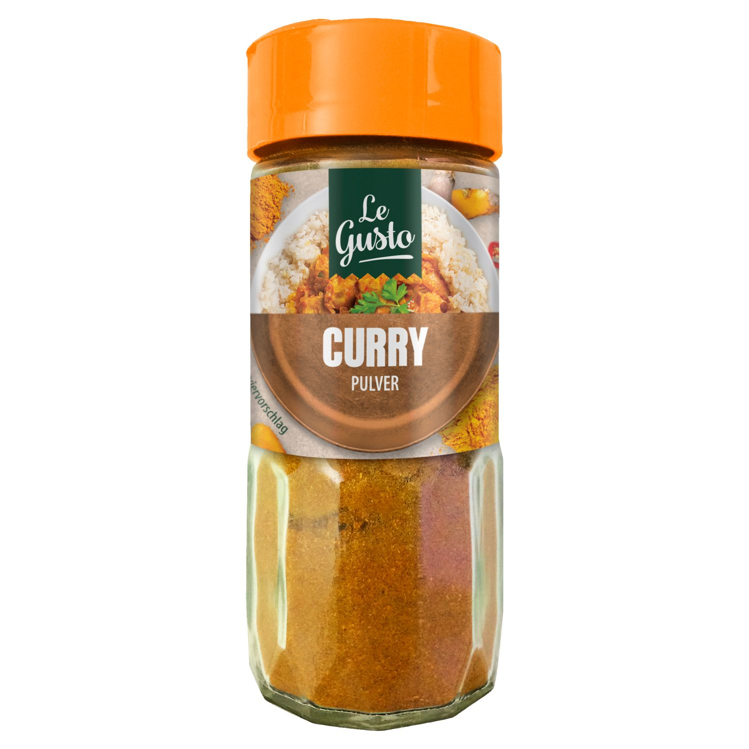 Le Gusto Curry Pulver 45g