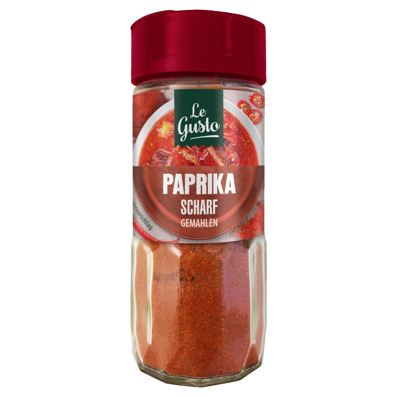 Le Gusto Scharfe Paprika Gemahlen 50g