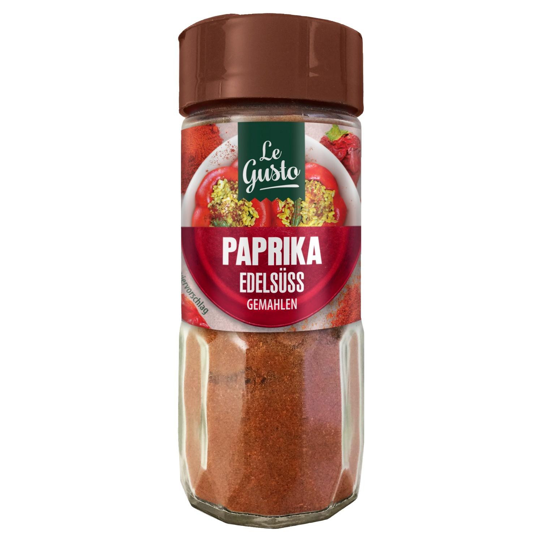 Le Gusto Edelsüsse Paprika Gemahlen 50g
