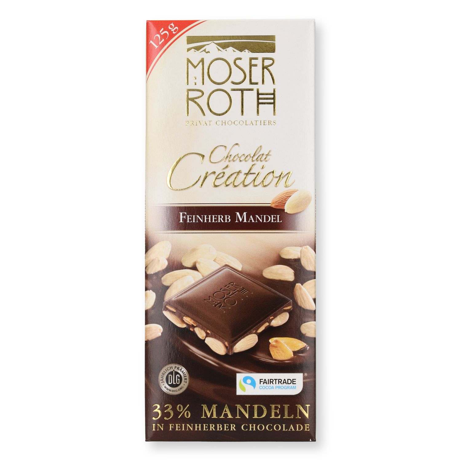 Moser Roth Chocolat Création 125g