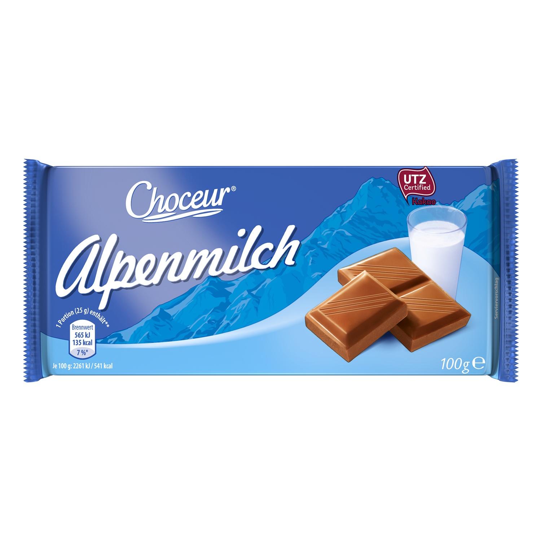 Choceur Alpenmilch 100g