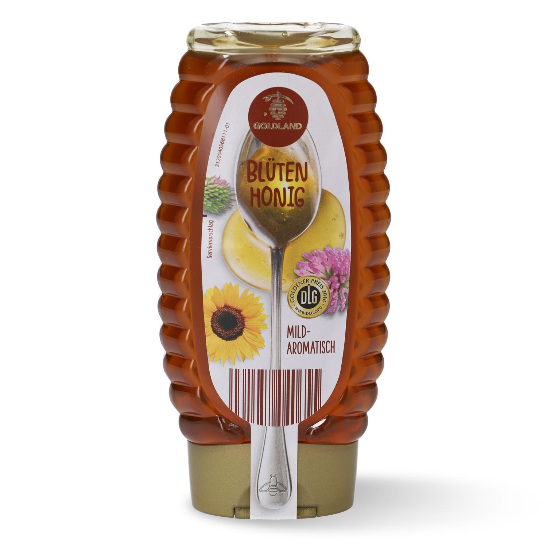Goldland Honig im Dosierspender 500g