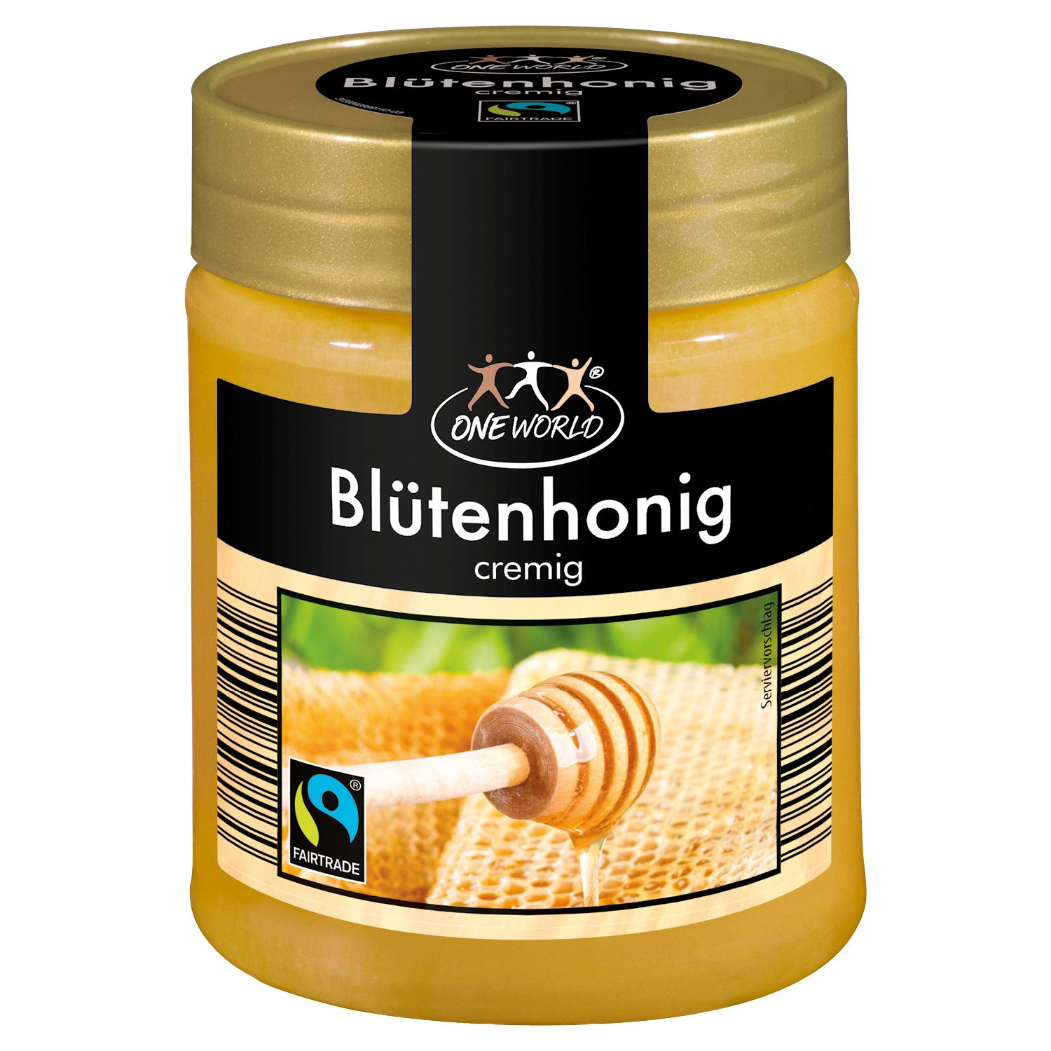 One World Blütenhonig cremig 500g