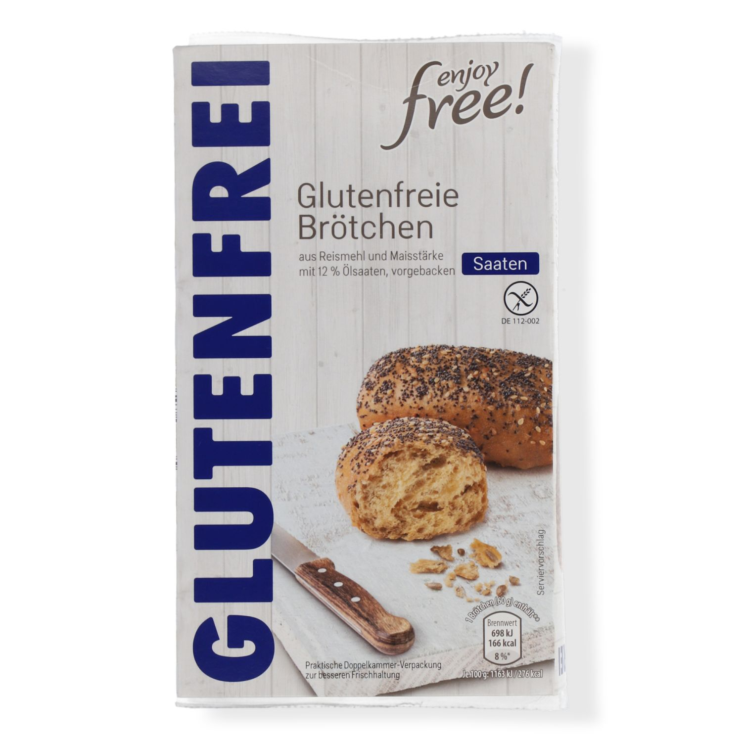 enjoy free! Glutenfreies Brot 400g