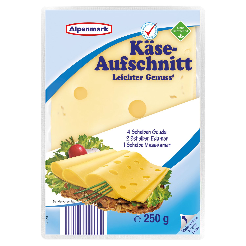 Alpenmark Käse-Aufschnitt leicht 250g