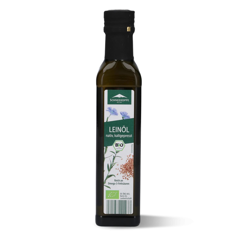 SCHNEEKOPPE Bio-Leinöl, nativ 250 ml