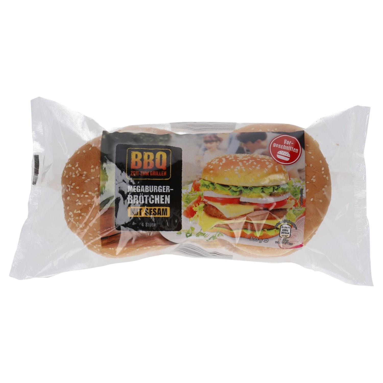 BBQ Megaburger-Brötchen 300 g