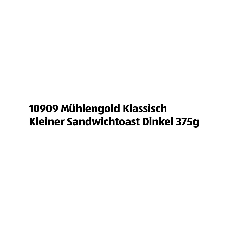 MÜHLENGOLD Klassisch Kleiner Sandwichtoast Dinkel 375g