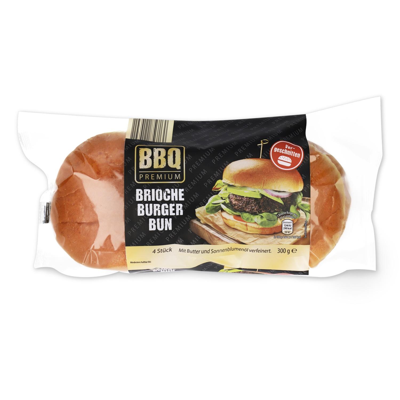 BBQ Brioche Burger Buns 300g