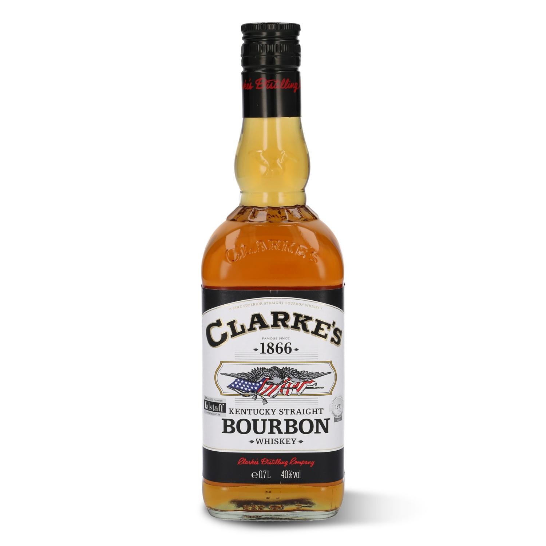 CLARKE'S Bourbon Whiskey 0,7 l