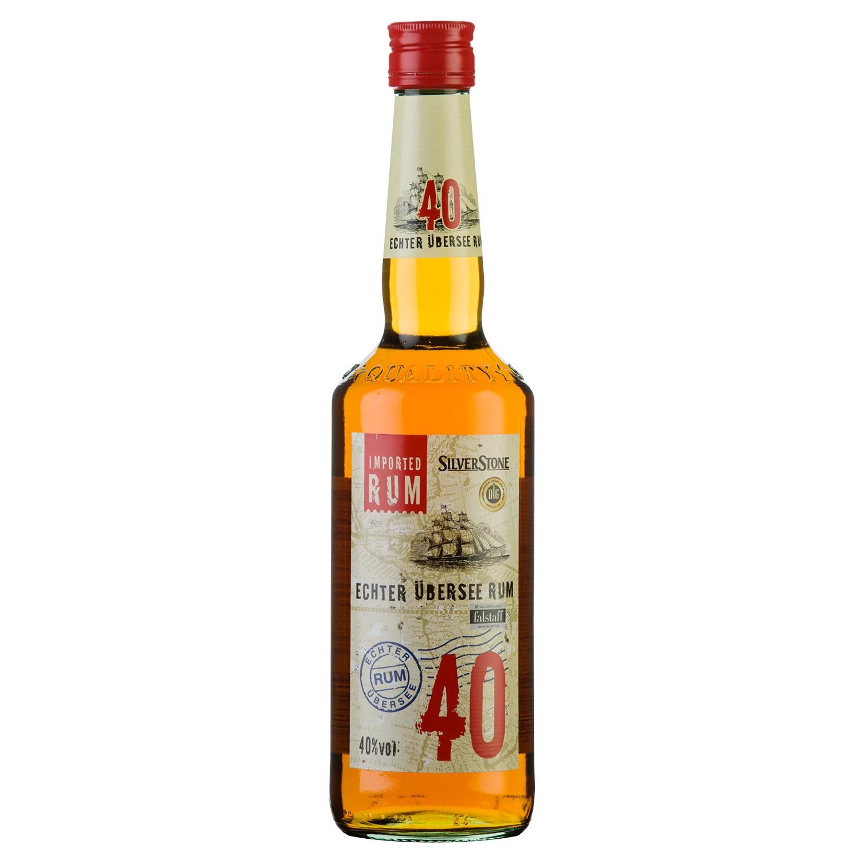 Silverstone Echter Übersee Rum 40 % 0,7l