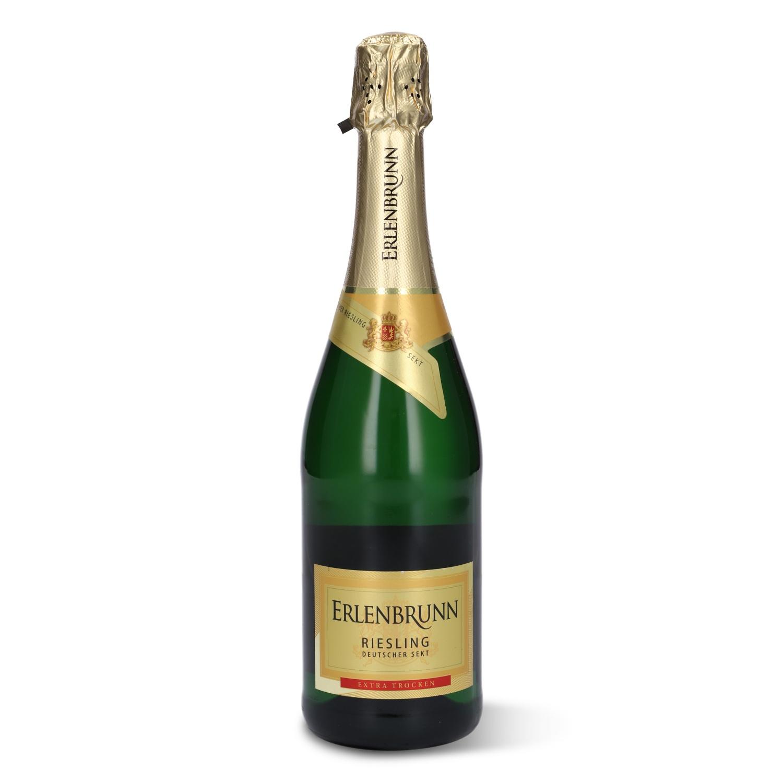 Erlenbrunn Riesling Deutscher Sekt Extra Trocken 0,75l
