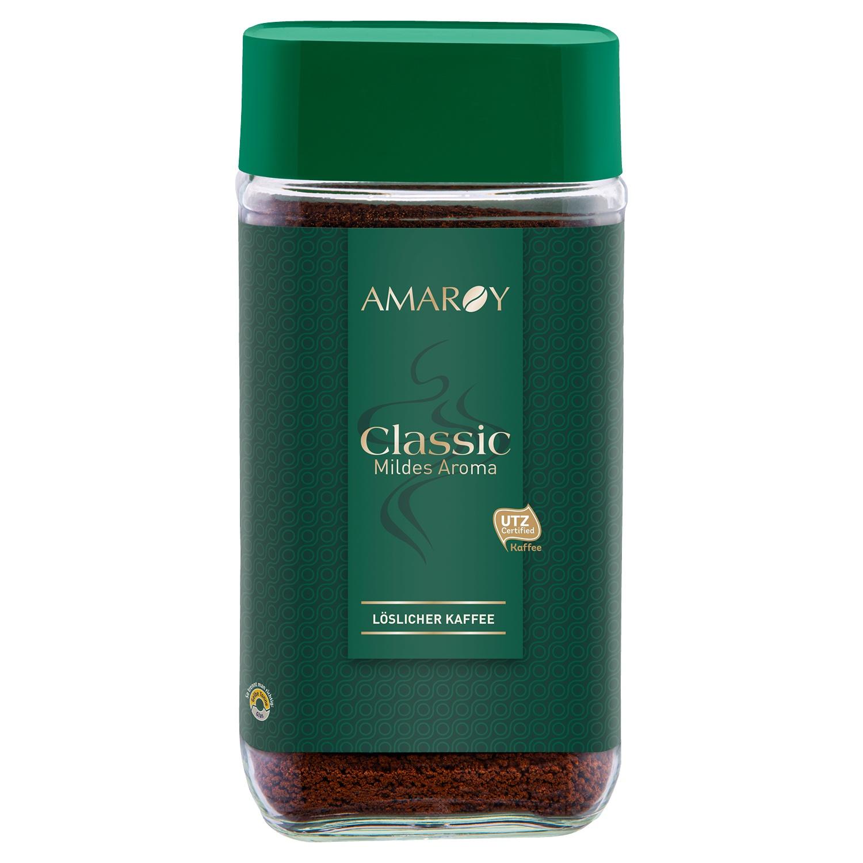 AMAROY Express Kaffee Classic mildes Aroma 200 g