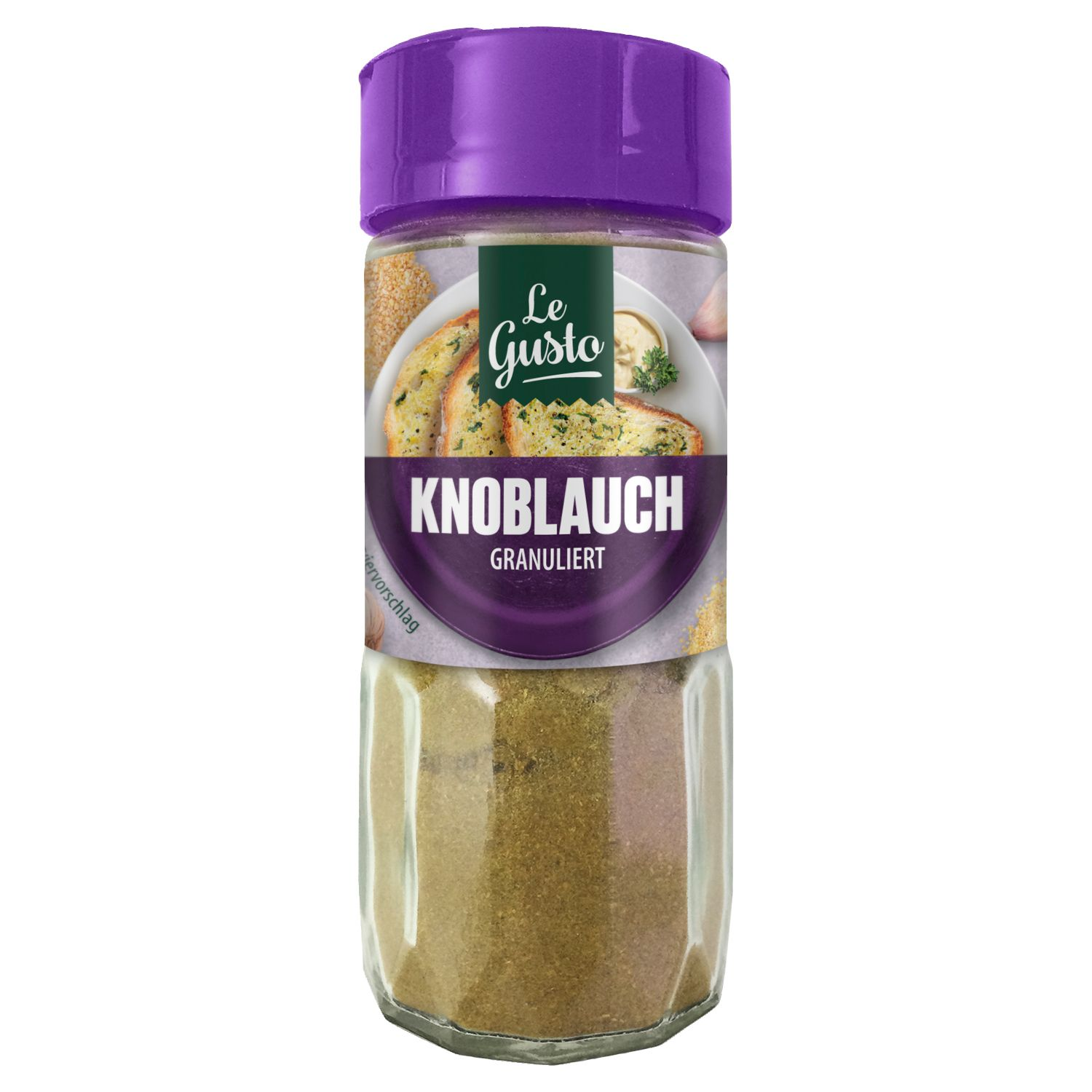 Le Gusto Knoblauch Granuliert 70g
