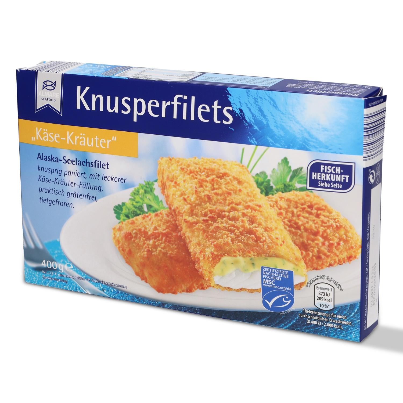Golden Seafood Knusperfilet 400g