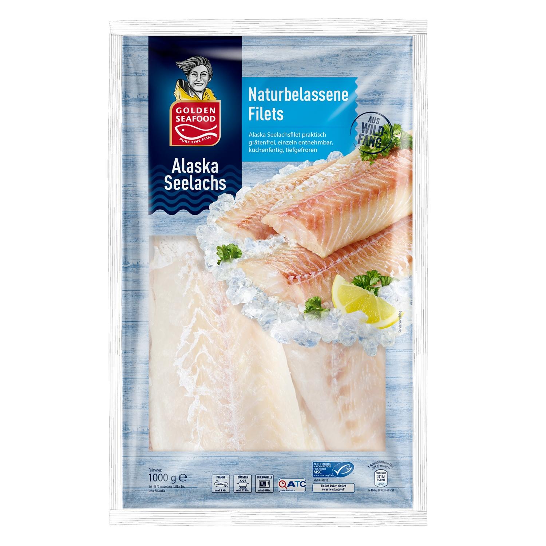Golden Seafood Alaska Seelachsfilets, 1000 g