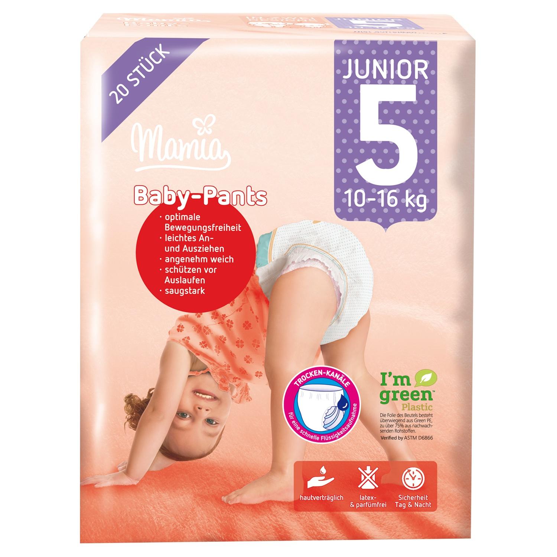 Mamia Baby-Pants Junior 5 20 Stück