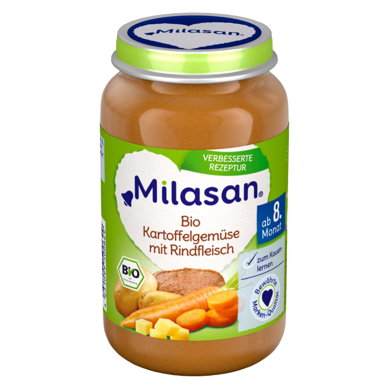 MILASAN Bio Kartoffelgemüse mit Rindfleisch 220g