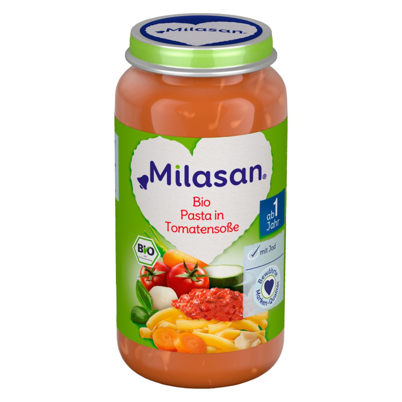 MILASAN Bio Pasta in Tomatensauce 250g