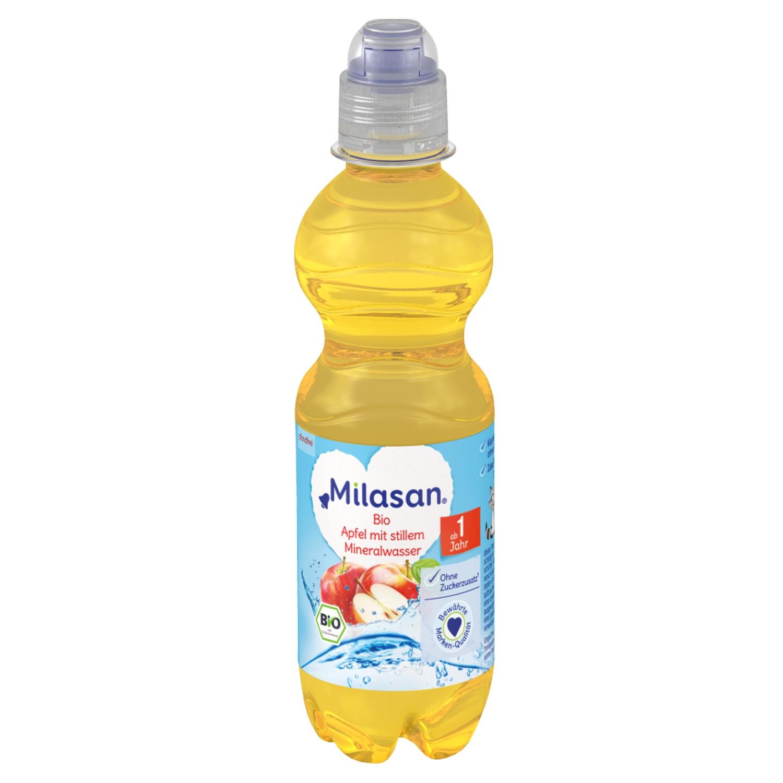 Bio Apfel mit stillen Mineralwasser 330ml