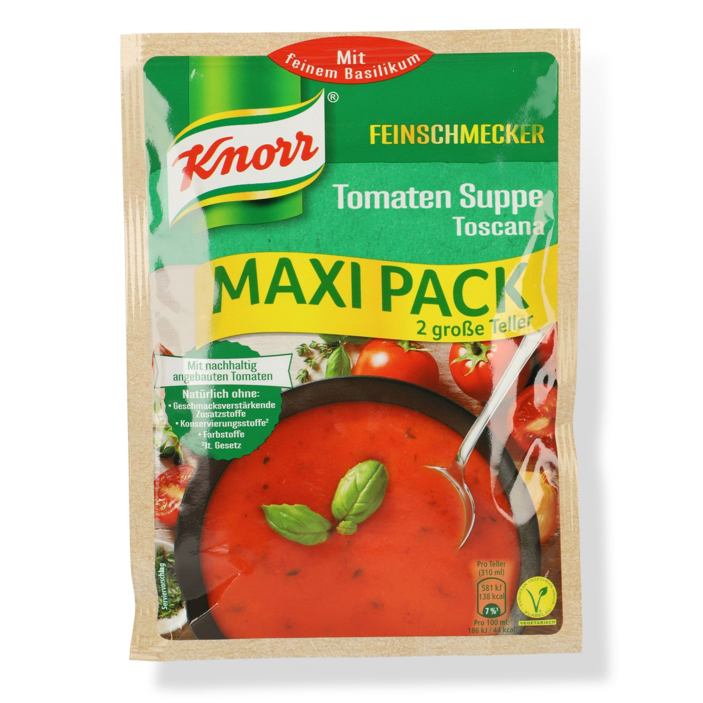 Knorr Feinschmecker Tomaten Suppe Toscana 74g