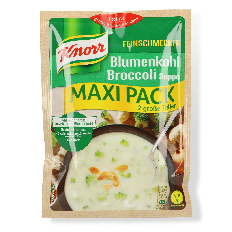 Knorr Feinschmecker Suppe Blumenkohl Broccoli/ Waldpilz 60g