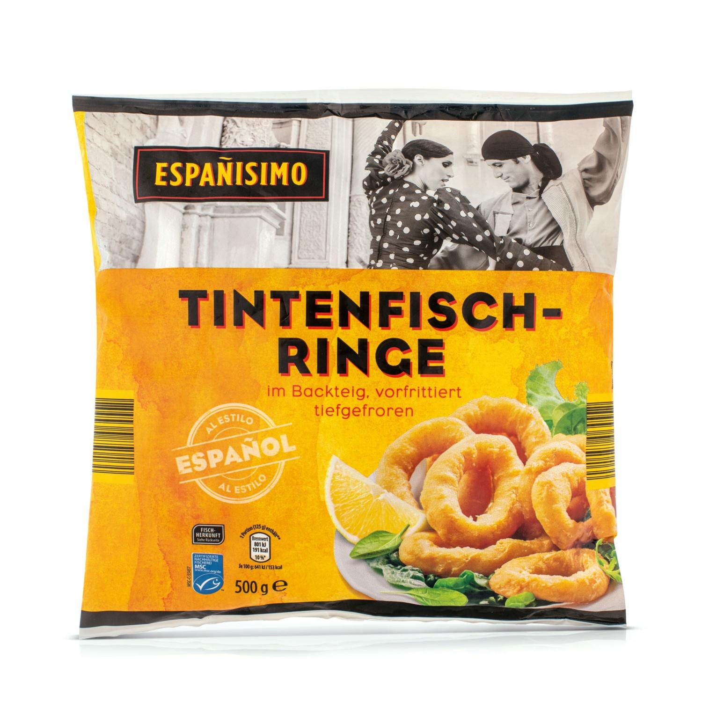 ESPANISIMO MSC Tintenfischringe im Backteig
