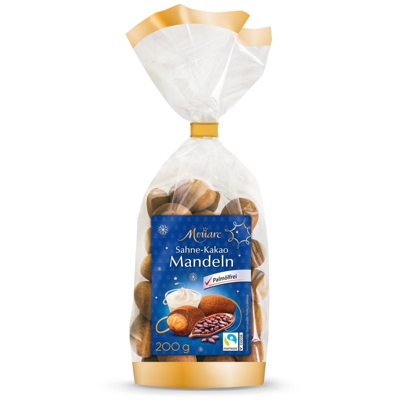 MONARC Edelnuss-Sortiment, Sahne Kakao Mandeln