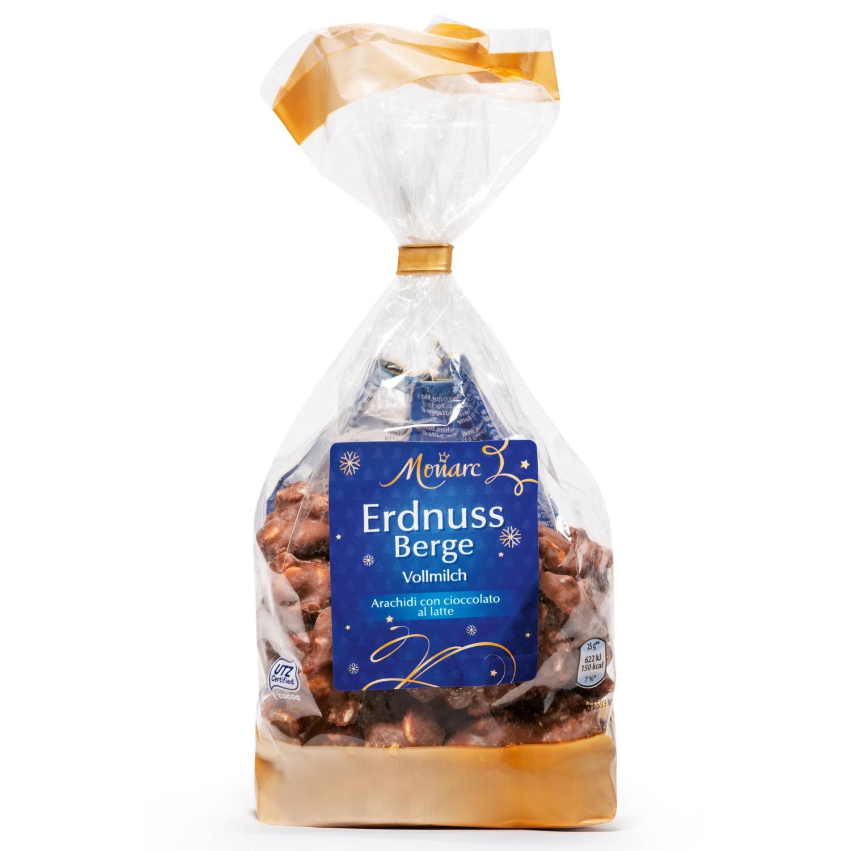 MONARC Erdnussberge, Vollmilch Schokolade