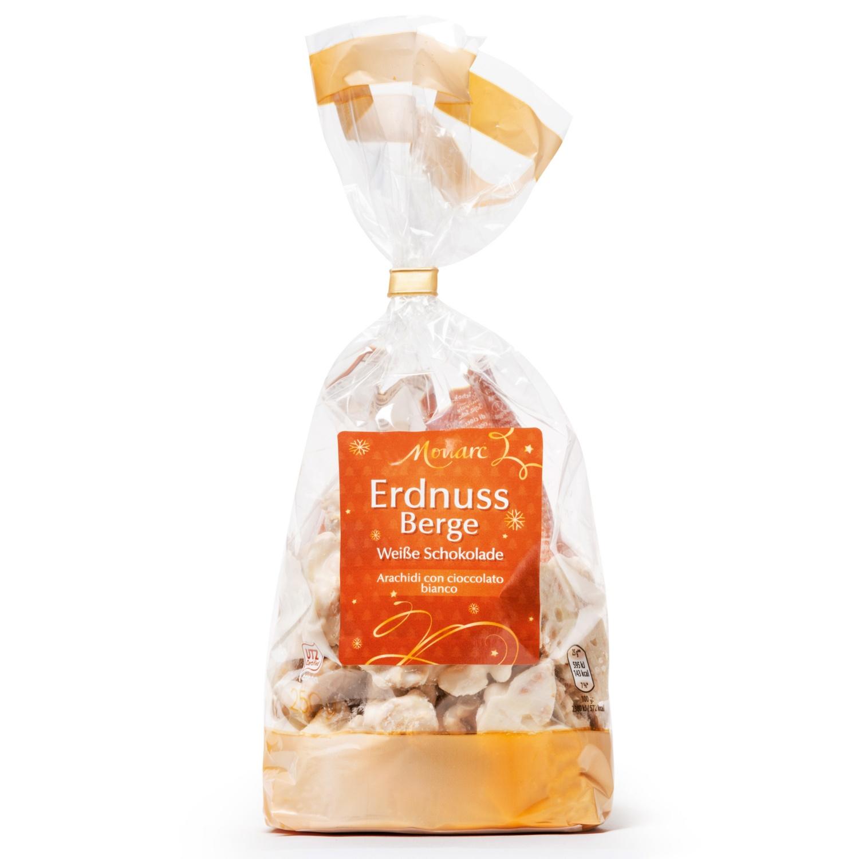 MONARC Erdnussberge, Weiße Schokolade