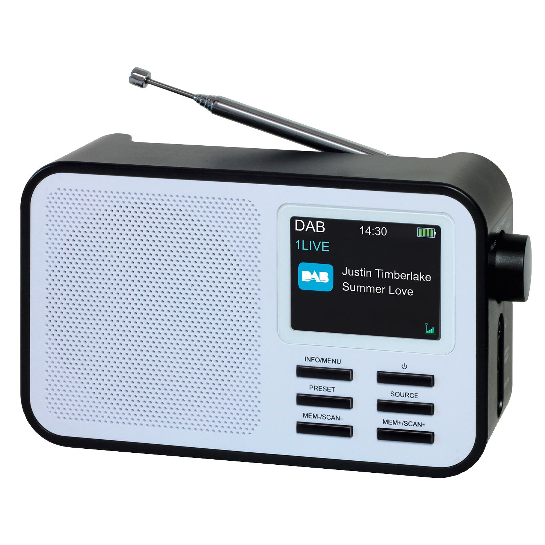TERRIS audio DAB+ Radio mit Akku*