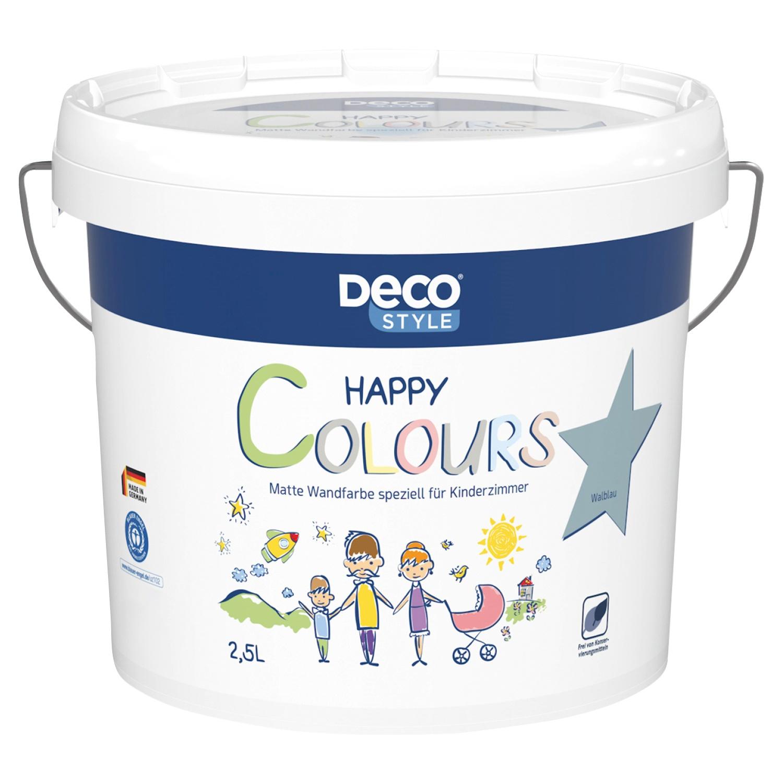 DECO STYLE® Wandfarbe Happy Colours im 2,5l*