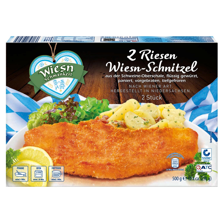 Wiesn Schmankerl Riesen Wiesn-Schnitzel 500g*