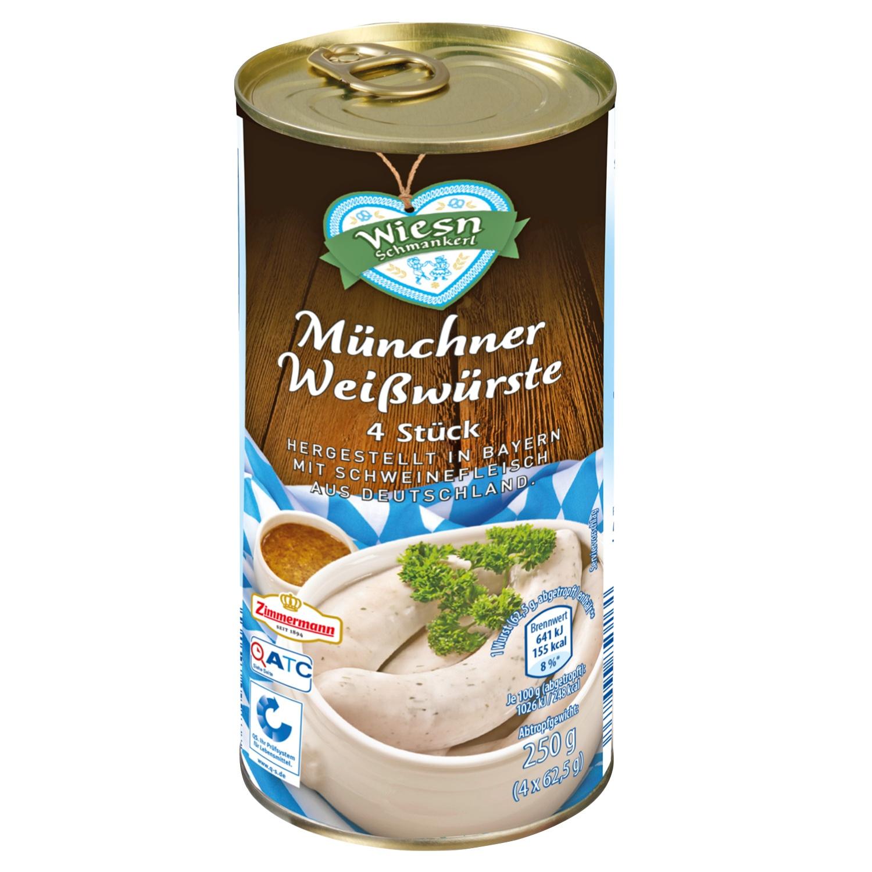 Wiesn Schmankerl Münchner Weißwürste 250g*