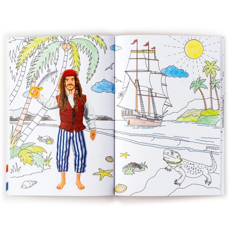 Dress & Color me-Mal-/Stickerbuch