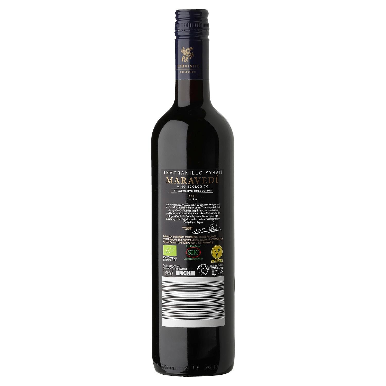 Bio-MARAVEDI Tempranillo Syrah Vino de la Tierra de Castilla 0,75l