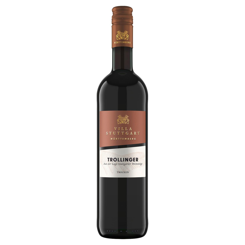 Trollinger Württemberg QbA aus der Lage Stuttgarter Weinsteige 0,75l