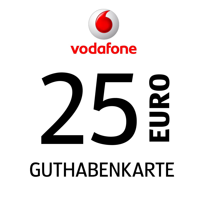 Vodafone Guthabenkarte 25€