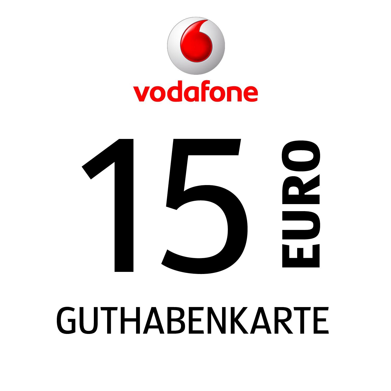 Vodafone Guthabenkarte 15€