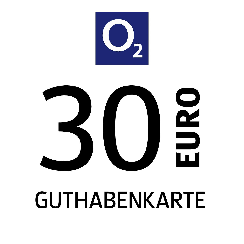 o2 Guthabenkarte 30€