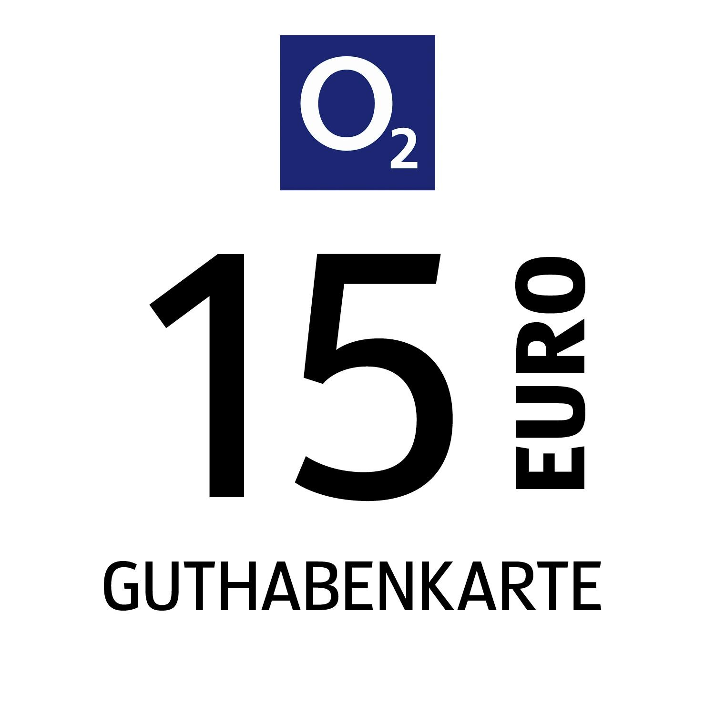 o2 Guthabenkarte 15€