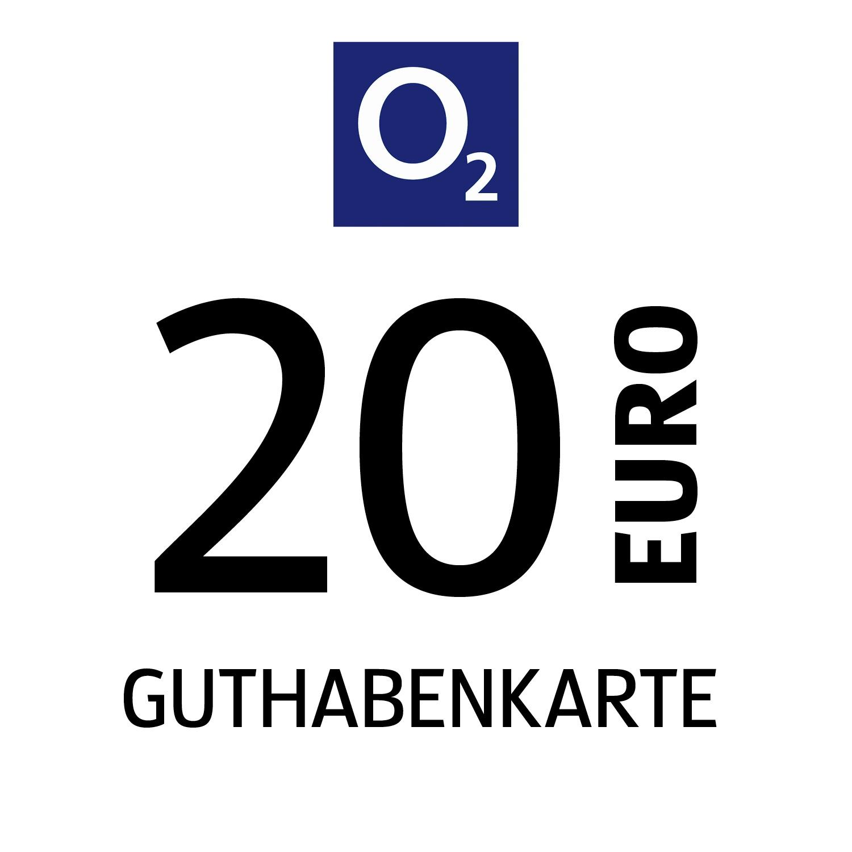 o2 Guthabenkarte 20€
