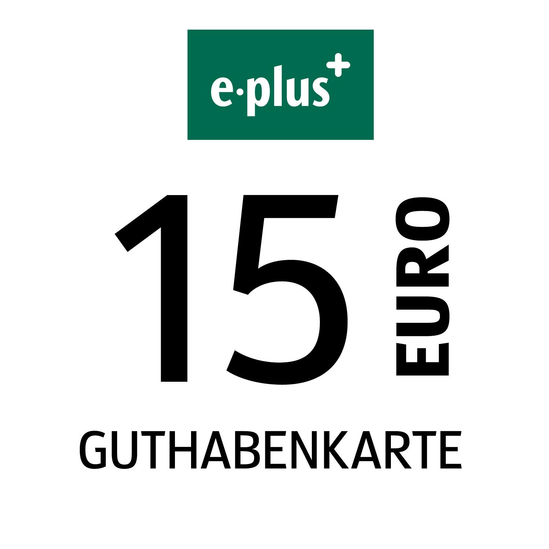 e-plus Guthabenkarte 15€