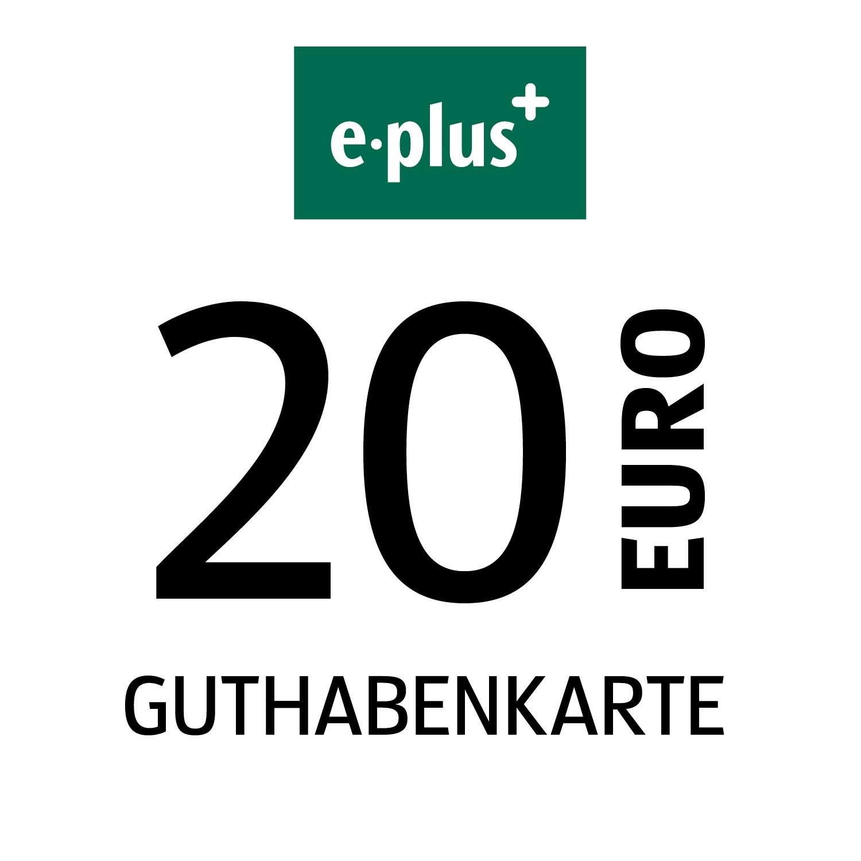 e-plus Guthabenkarte 20€