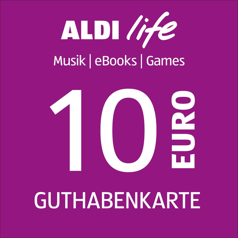 ALDI life Guthabenkarte 10€