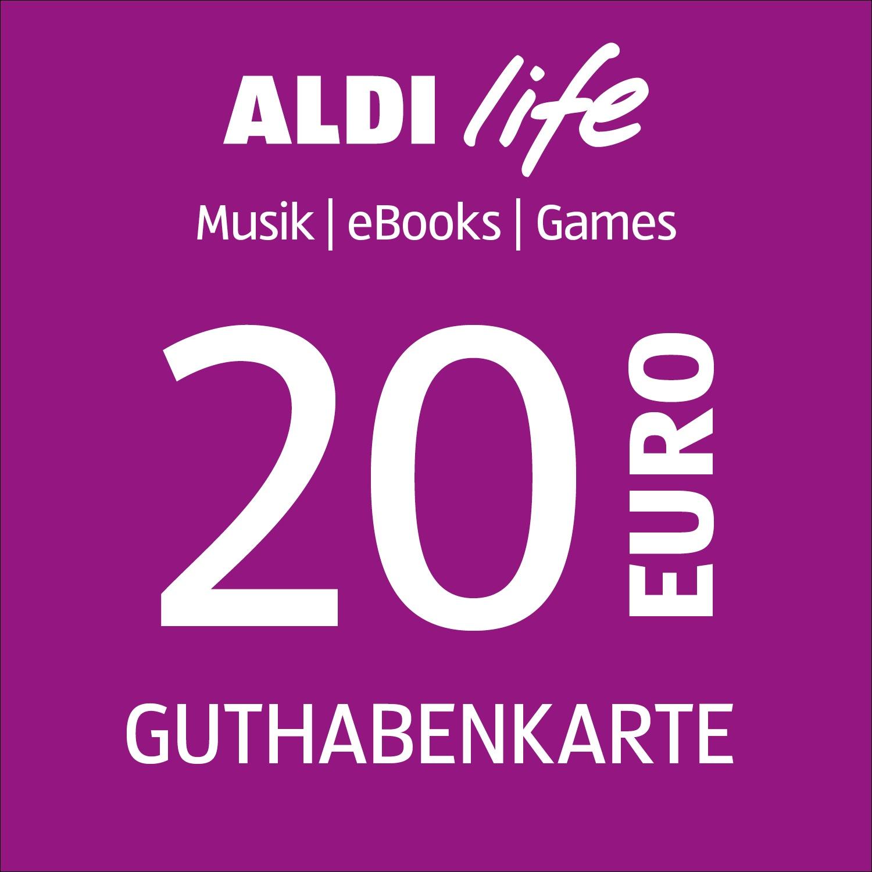 ALDI life Guthabenkarte 20€